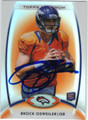 BROCK OSWEILER DENVER BRONCOS AUTOGRAPHED ROOKIE FOOTBALL CARD #11513B