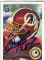 ALDRICK ROBINSON WASHINGTON REDSKINS AUTOGRAPHED ROOKIE FOOTBALL CARD #11613i