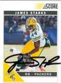 JAMES STARK AUTOGRAPHED FOOTBALL CARD #11712i