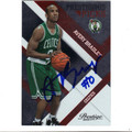 AVERY BRADLEY BOSTON CELTICS AUTOGRAPHED & NUMBERED & NUMBERED ROOKIE BASKETBALL CARD #11713A