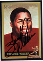 HERSCHEL WALKER AUTOGRAPHED FOOTBALL CARD #11812C