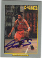 TRACY McGRADY HOUSTON ROCKETS AUTOGRAPHED BASKETBALL CARD #11813B