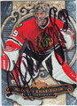 NIKOLAI KHABIBULIN CHICAGO BLACKHAWKS AUTOGRAPHED HOCKEY CARD #11912H
