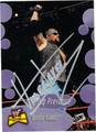 THE UNDERTAKER AUTOGRAPHED WRESTLING CARD #120111N