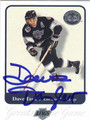 DAVE TAYLOR LOS ANGELES KINGS AUTOGRAPHED HOCKEY CARD #120112B