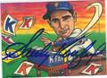 SANDY KOUFAX AUTOGRAPHED BASEBALL CARD #11812K