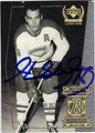 HENRI RICHARD MONTREAL CANADIENS AUTOGRAPHED HOCKEY CARD #12013F