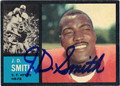 JD SMITH SAN FRANCISCO 49ers AUTOGRAPHED VINTAGE FOOTBALL CARD #12013H