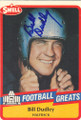Bill Dudley Autographed Football Card 1202