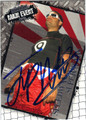 JUAN PABLO MONTOYA AUTOGRAPHED NASCAR CARD #120211B