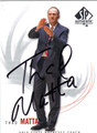 THAD MATTA AUTOGRAPHED BASKETBALL CARD #120212A