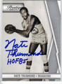 NATE THURMOND AUTOGRAPHED BASKETBALL CARD #120211E