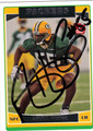 ABDUL HODGE AUTOGRAPHED ROOKIE CARD #120211Q