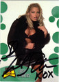 TRISH STRATUS AUTOGRAPHED WRESTLING CARD #120211T