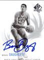 BRAD DAUGHERTY AUTOGRAPHED BASKETBALL CARD #120212G