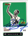 BOB COUSY BOSTON CELTICS AUTOGRAPHED BASKETBALL CARD #120213D