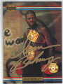 "IRAN ""THE BLADE"" BARKLEY AUTOGRAPHED BOXING CARD #120313A"