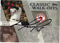 DAVID ORTIZ BOSTON RED SOX AUTOGRAPHED BASEBALL CARD #120512A