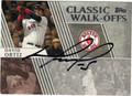 DAVID ORTIZ BOSTON RED SOX AUTOGRAPHED BASEBALL CARD #120512A