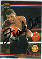FRANK TATE AUTOGRAPHED BOXING CARD #120513B