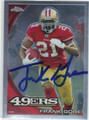 FRANK GORE SAN FRANCISCO 49ers AUTOGRAPHED FOOTBALL CARD #120513H