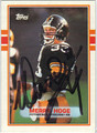 MERRYL HOGE AUTOGRAPHED FOOTBALL CARD #120610H