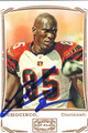 CHAD OCHOCINCO JOHNSON CINCINNATI BENGALS AUTOGRAPHED FOOTBALL CARD #120610O