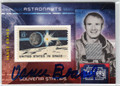 VANCE BRAND AUTOGRAPHED & NUMBERED PIECE OF THE GAME CARD #120612E