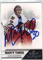 MARTY TURCO AUTOGRAPHED HOCKEY CARD #120612G
