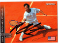 MICHAEL CHANG AUTOGRAPHED TENNIS CARD #120710D