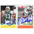 CHANSI STUCKEY & LAVERANUES COLES SET OF 2 AUTOGRAPHED CARDS #120710L