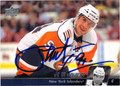 JOHN TAVARES NEW YORK ISLANDERS AUTOGRAPHED HOCKEY CARD #120713E