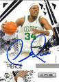 PAUL PIERCE AUTOGRAPHED BASKETBALL CARD #120812B