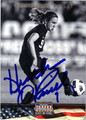 HEATHER O'REILLY AUTOGRAPHED SOCCER CARD #120812F