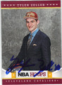 TYLER ZELLER CLEVELAND CAVALIERS AUTOGRAPHED ROOKIE BASKETBALL CARD #120813G