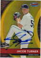 JACOB TURNER AUTOGRAPHED ROOKIE BASEBALL CARD #120912B