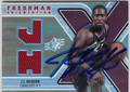 JJ HICKSON AUTOGRAPHED PIECE OF THE GAME ROOKIE BASKETBALL CARD #120912F