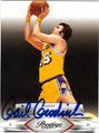 GAIL GOODRICH AUTOGRAPHED BASKETBALL CARD #121011A