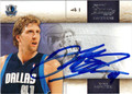 DIRK NOWITZKI AUTOGRAPHED BASKETBALL CARD #121011N
