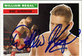 WILLIAM REGAL AUTOGRAPHED WRESTLING CARD #121011M