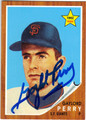 GAYLORD PERRY SAN FRANCISCO GIANTS AUTOGRAPHED BASEBALL CARD #120913E