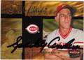 SPARKY ANDERSON CINCINNATI REDS AUTOGRAPHED BASEBALL CARD #120913K