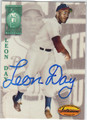 LEON DAY NEGRO LEAGUE AUTOGRAPHED BASEBALL CARD #121013L