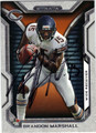 BRANDON MARSHALL CHICAGO BEARS AUTOGRAPHED FOOTBALL CARD #121013M
