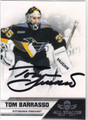 TOM BARRASSO AUTOGRAPHED HOCKEY CARD #121112A