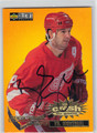 BRENDAN SHANAHAN DETROIT RED WINGS AUTOGRAPHED HOCKEY CARD #121112F