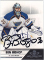BEN BISHOP AUTOGRAPHED HOCKEY CARD #121112H