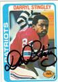 DARRYL STINGLEY AUTOGRAPHED VINTAGE FOOTBALL CARD #121111K
