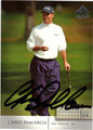 CHRIS DiMARCO AUTOGRAPHED GOLF CARD #121111J