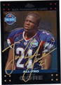 FRANK GORE AUTOGRAPHED FOOTBALL CARD #12112i